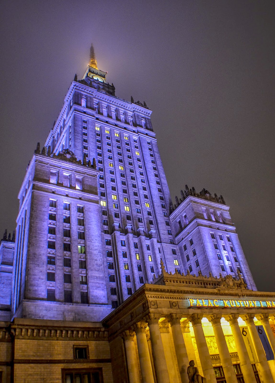 Varsovie Pologne Hiver