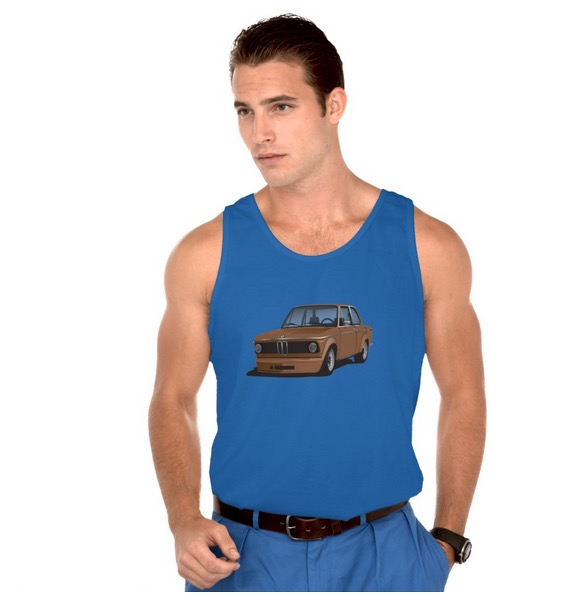 BMW 2002 turbo tank top