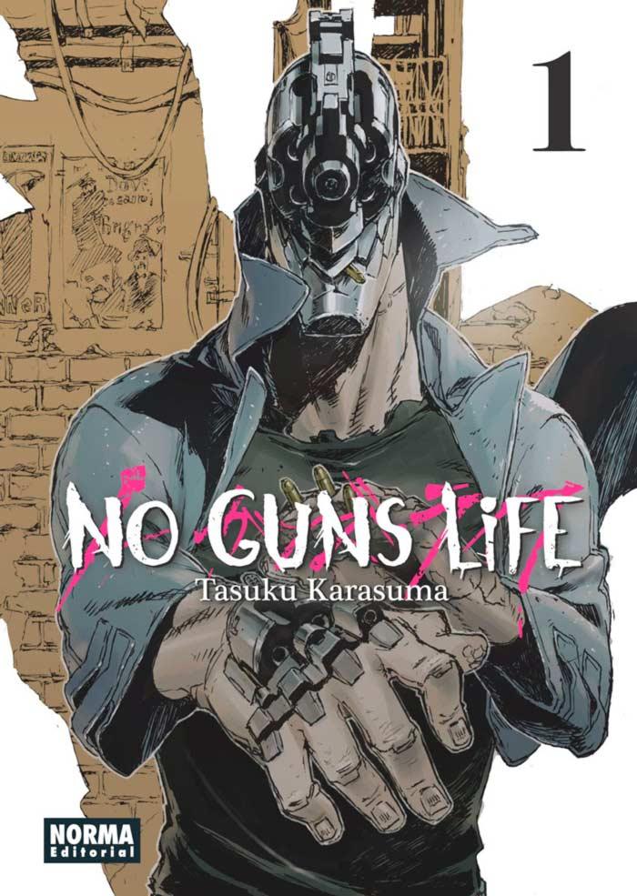 No Guns Life #1 manga - Tasuku Karasuma - Norma Editorial