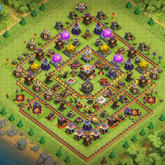 Best Clash Of Clans Base Layouts – Daily Motivational Quotes