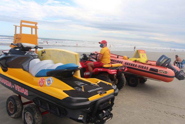 Operação Verão reforça a segurança nas praias da Ilha Comprida