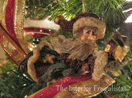 Boyd's Bears Folkstone Santa ornament