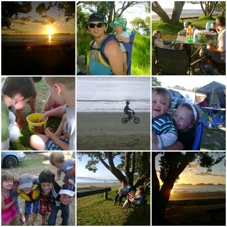 Camping with Baby Scrag, Jan 2009