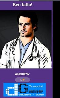 Soluzioni Guess The Grey's Anatomy livello 47