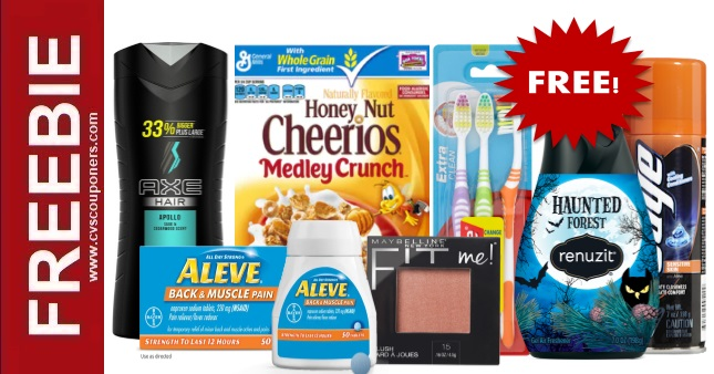 Mega Extrabuck Freebie Deal at CVS