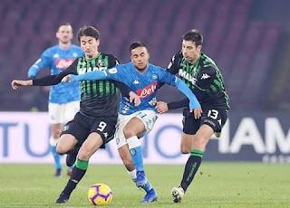 بث مباشر مباراة نابولي و ساسولو اليوم الاحد 13/01/2019 كاس ايطاليا