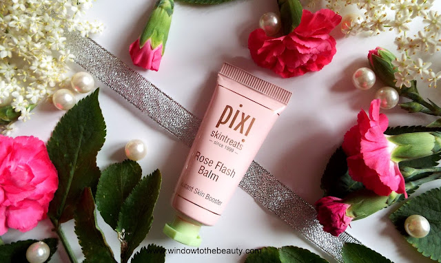 pixi Rose Flash Balm wizaż