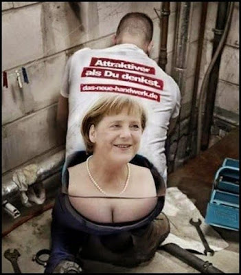Attraktiver als Du denkst, Angela Merkel,