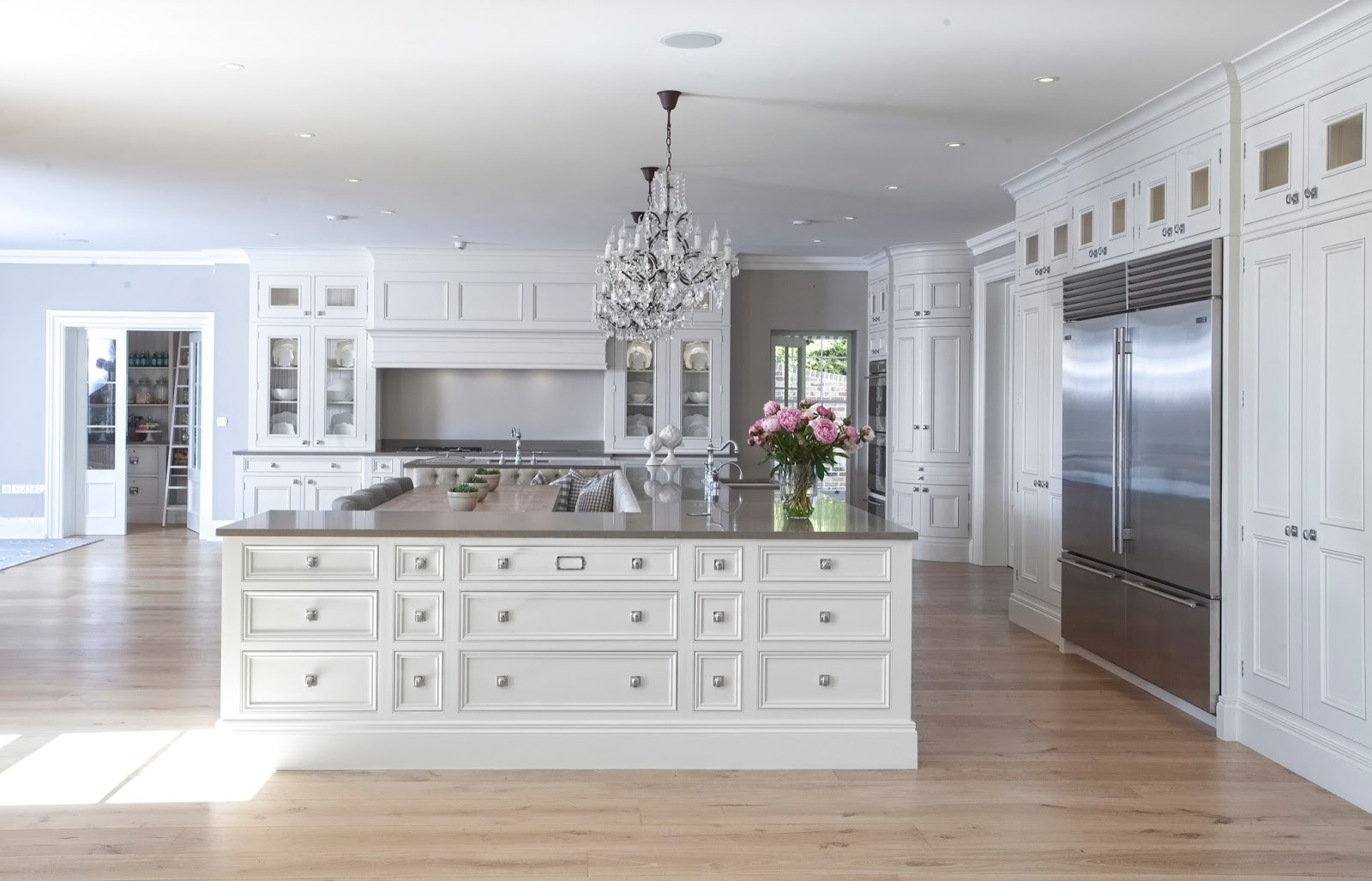 Beautiful Kitchen Islands Grommet Curtains House High End Luxury August 29 2016 Zsazsa