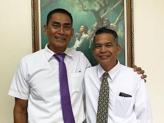 President Santillan and President Baldonado