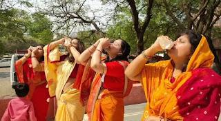 महिलाओं ने नव संवत्सर गुड़ी पड़वा पर शंख बजाकर नव संवत्सर का आगाज किया