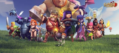 Clash of Clans Mod/Hack APK Thunderbolt Server (Agustus 2015)