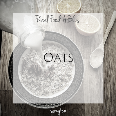 real food abcs - oats