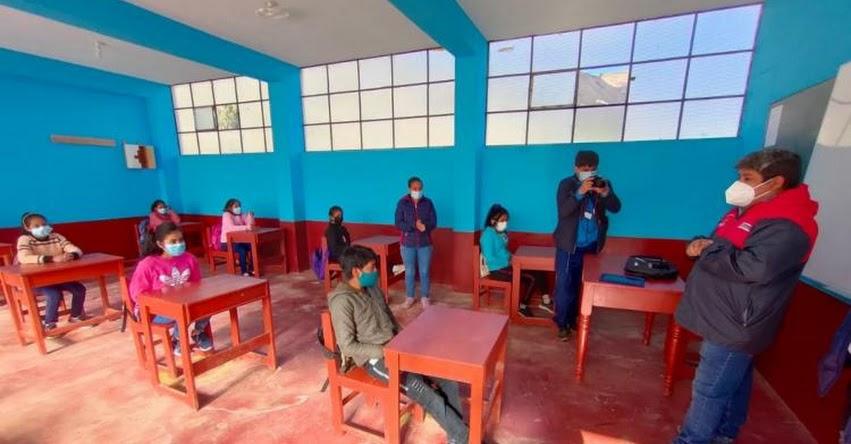 Más de 2,600 escolares volvieron a las aulas en La Libertad