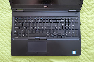 Dell Precision 3520 keyboard and touchpad