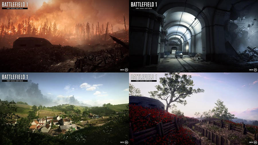 battlefield 1 they shall not pass maps