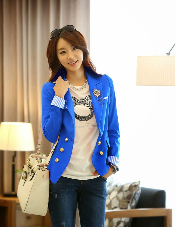 Mia Rosmayanti  Gaya Baju Casual Wanita Style Korea Modern Terbaru 2016 884c6b9fdf