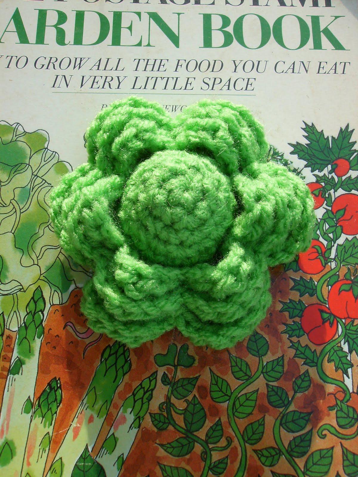 Crochet Lettuce Pattern
