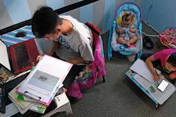Ortu Protes, Materi Belajar di Rumah Terlalu Banyak dan Sulit Diserap Anak