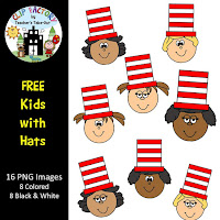 Free Kids with a Hat Clipart