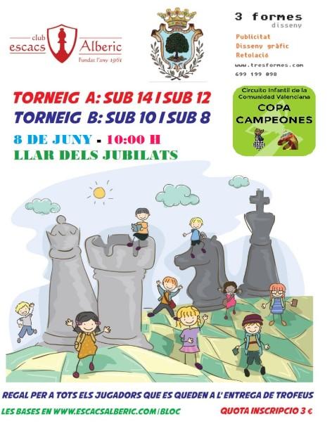8 junio, Infantil Alberic Fira de Sant Joan (CCI)
