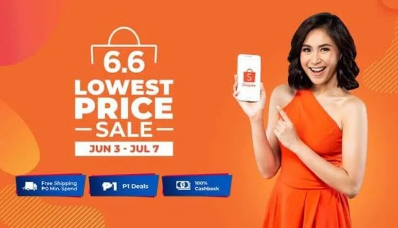 Shopee Names Sarah Geronimo as Brand Ambassador for 6.6 - 7.7 Sale