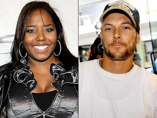 Kevin Federline with his ex-girlfriend Shar Jackson