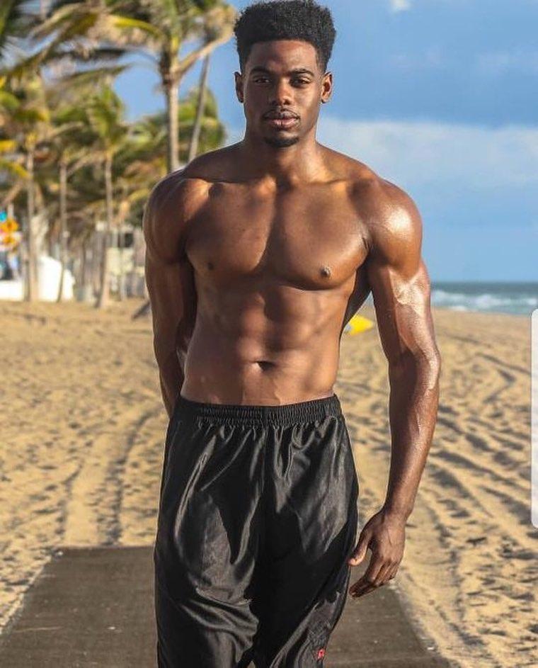 Naked Guys On A Beach