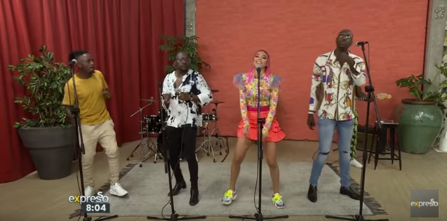 Download new Video by Sauti Sol & Sho Madjozi Perform Disco Matanga