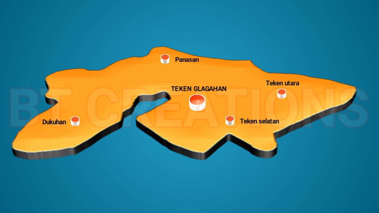 KABUPATEN NGANJUK: Desa Teken Glagahan - Loceret