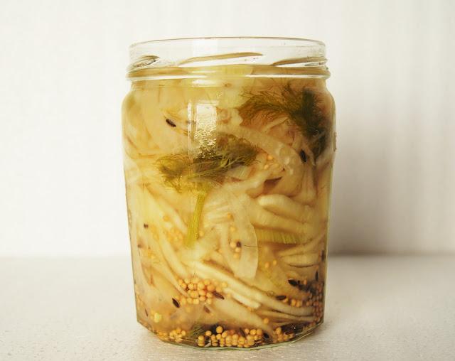 Pickles de fenouil