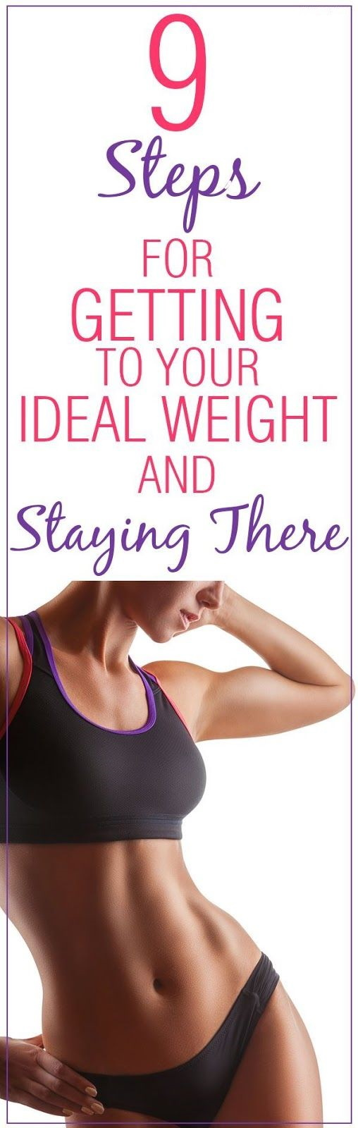 9 Steps for Getting to Your Ideal Weight and Staying There!