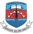 Federal Poly Ede ND DAILY PART TIME, ND (PART-TIME) Admission Form Available Online For 2018/19 Semester