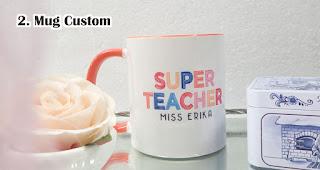 Mug Custom Bergambar adalah Hadiah Menarik Dan Berkesan Untuk Guru