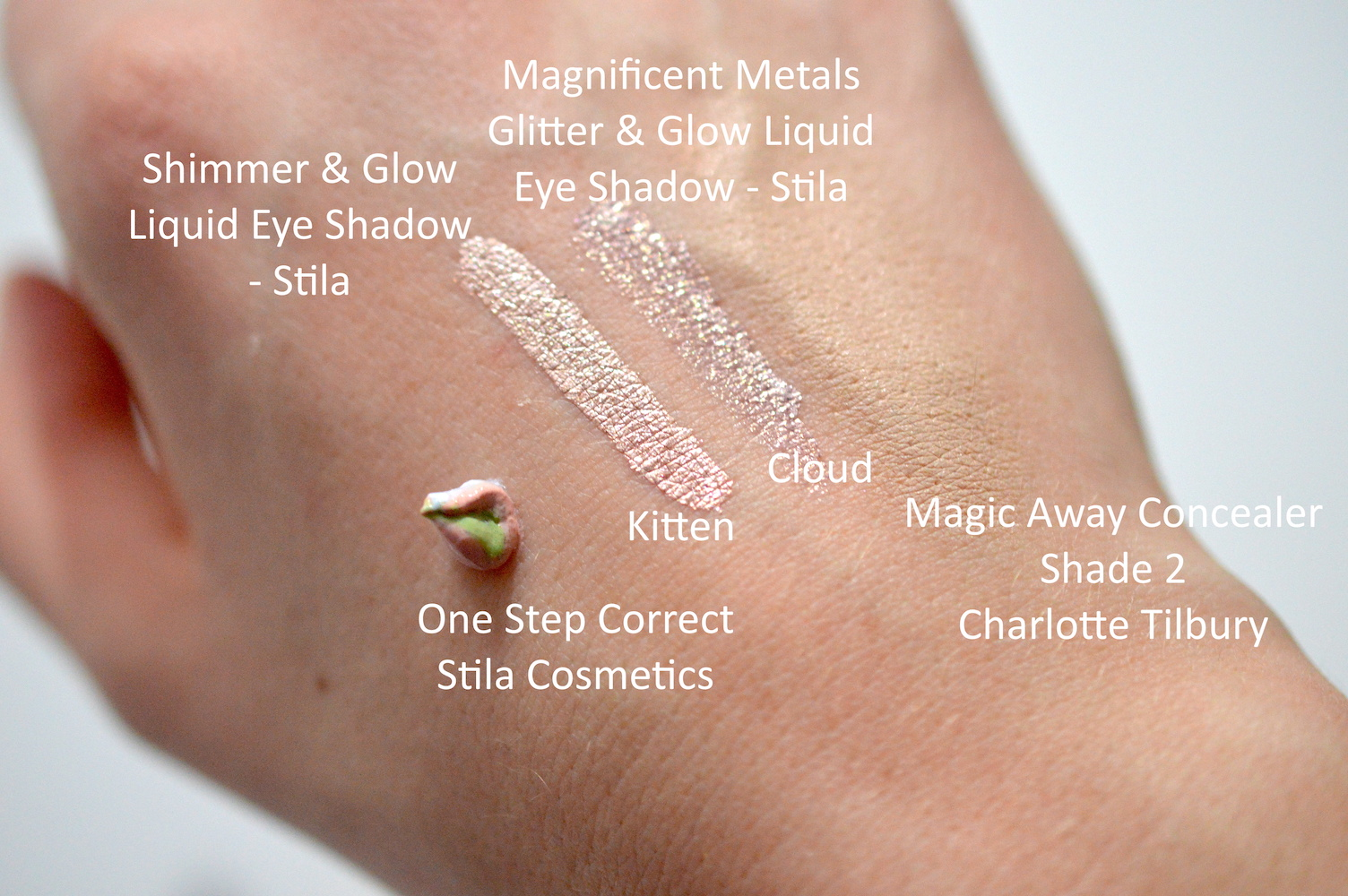 Stila Magnificent Metals Glitter Eye Shadows