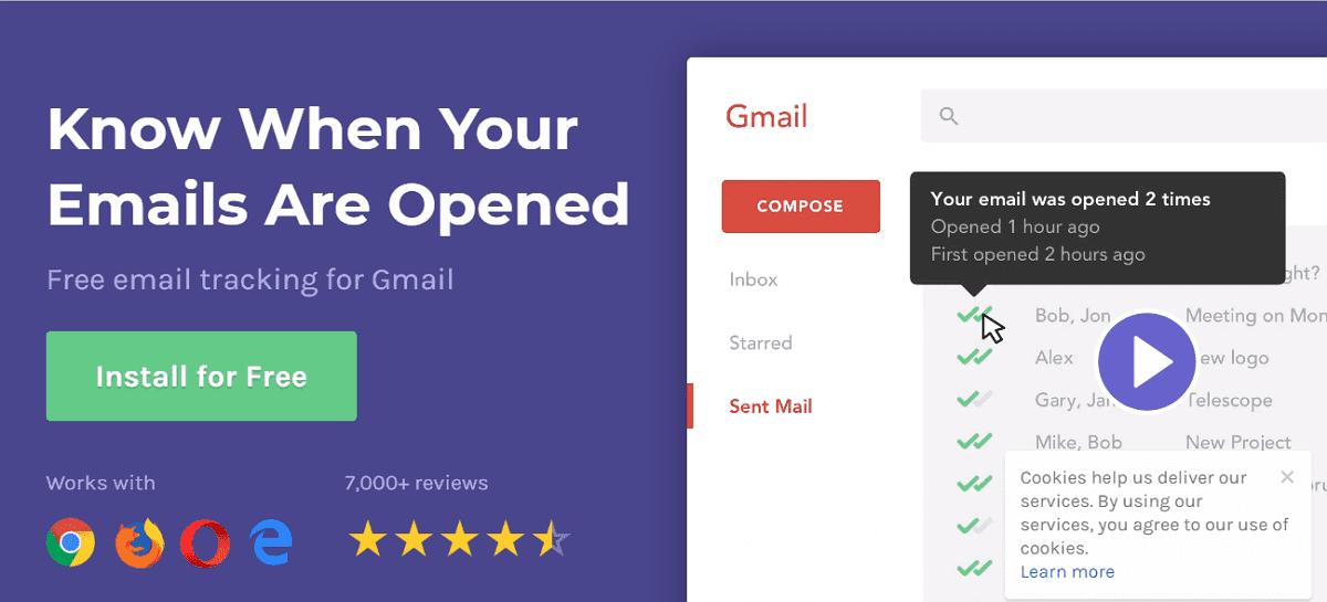 Mailtrack 追蹤 Gmail 電子郵件是否傳送