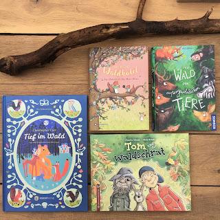 Tiere im Wald - Kinderbuchtipps für Geschichten, die im Wald spielen, Kinderbuchblog Familienbücherei