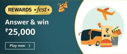 Amazon Rewards Fest Quiz Answer Win - Rs.25000