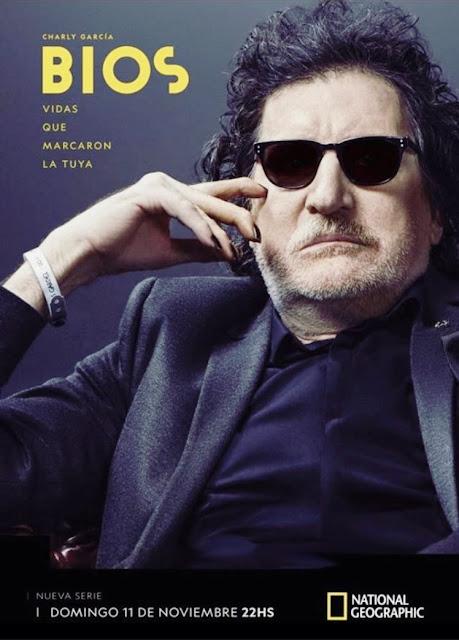 Domingo 11 de noviembre, estreno de la biografía de Charly García por NatGeoTv
