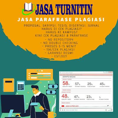 Jasa Cek Plagiat Online Cepat 15 Menit Harga 15rb