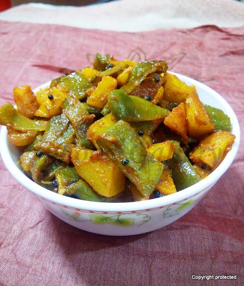Chikkudukaya Vepudu, Broad beans Stir Fry