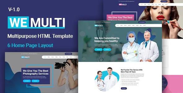 Best Multipurpose HTML Template