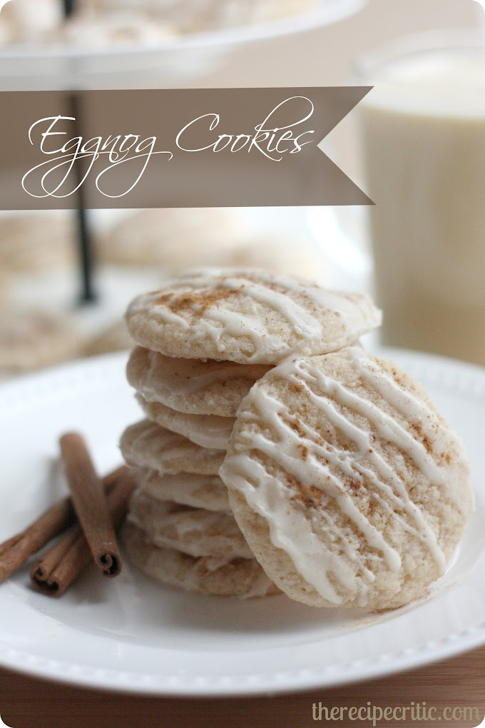 Eggnog Cookies #Food #Recipes #Delicious #HealthyFoods