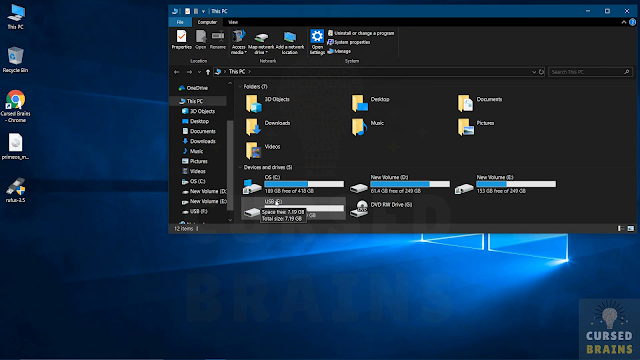How To Install Prime OS need a USB drive, with at least 8GB of memory,