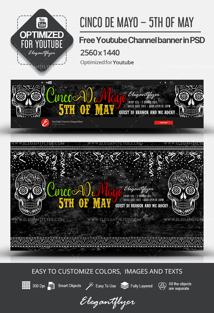 2560x1440 Template : 2560x1440, template, 1200+, Youtube, Channel, Templates, Premium