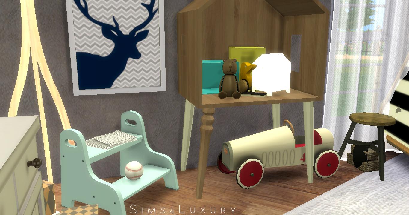 Boy Room Sims4luxury