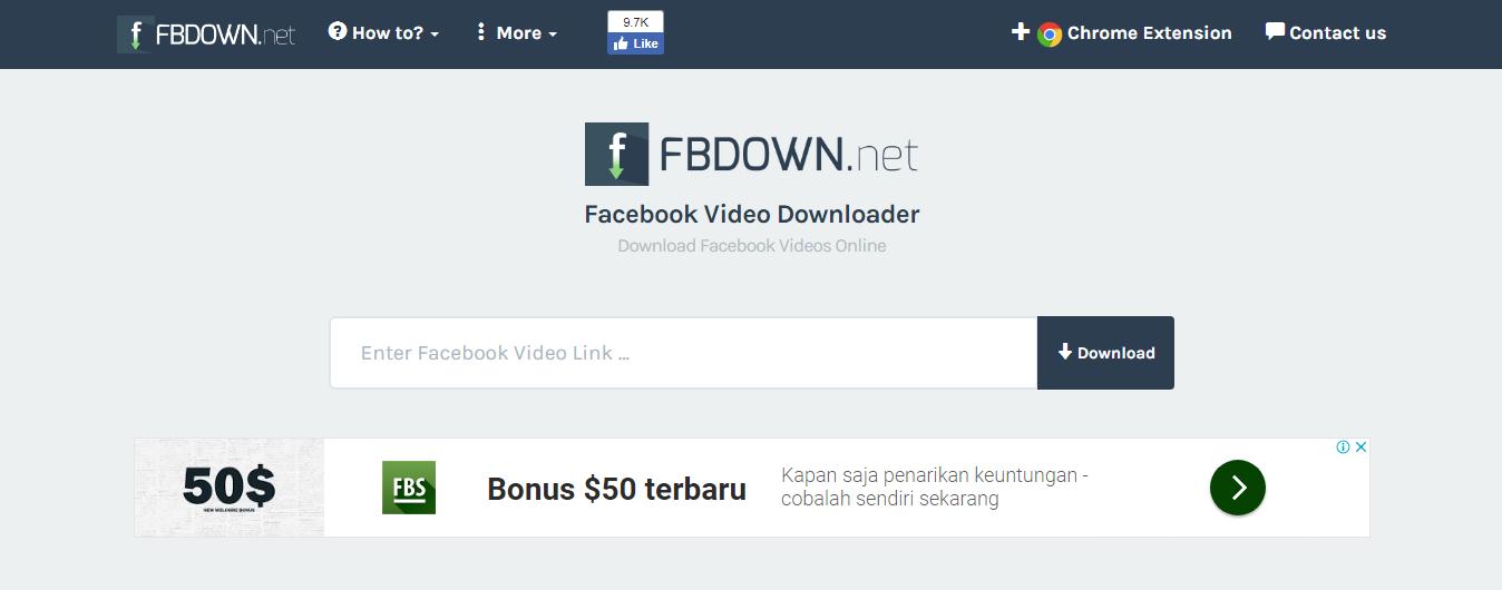 Cara Mudah Download Video di Facebook Tanpa Instal Aplikasi
