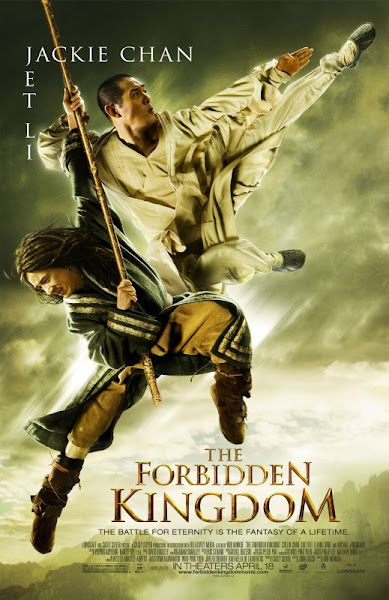 Poster Of The Forbidden Kingdom 2008 720p Hindi BRRip Dual Audio Full Movie Download