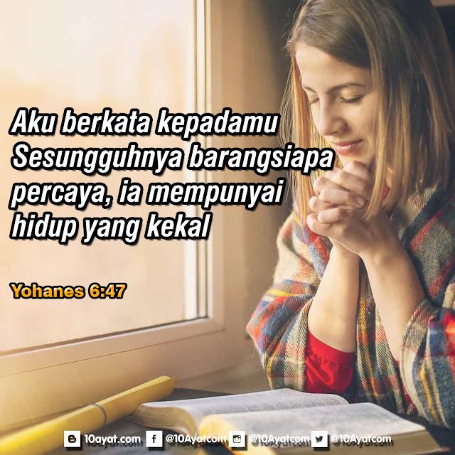 Yohanes 6:47