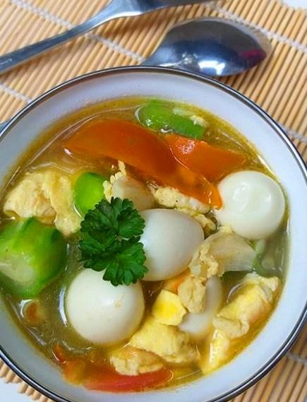 Resep Sup Sayur Puyuh Lezat